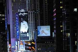 P Diddy Launches Biggest Times Square Ad in History