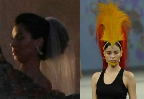 20 Dramatic Headpieces and Hairstyles