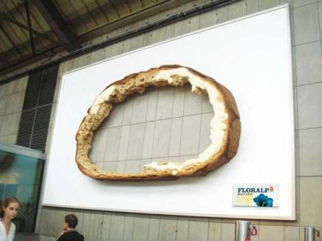 3-D Breadvertising