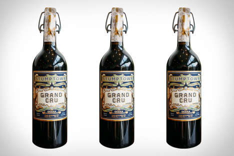 Wine Bottle Coffee - The Stumptown Grand Cru Cold Brew Has Hints of Orange Blossom and Papaya