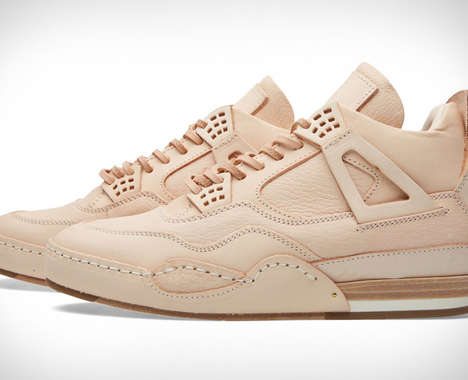 Raw Leather Japanese Sneakers
