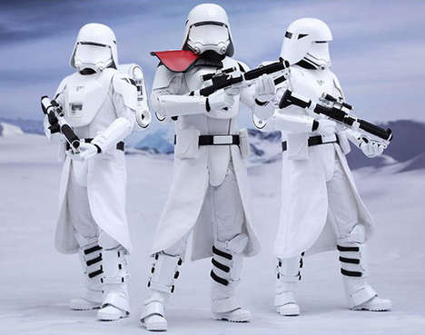 Winterized Sci-Fi Toys - The 'Snowtroopers' are a New Winter Version of a Star Wars Stormtrooper