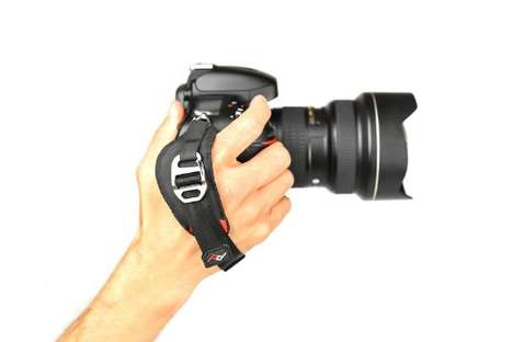 Camera-Clutching Accessories - The Peak Design Camera Hand Strap Lets You Grab a Hold of Your Gear