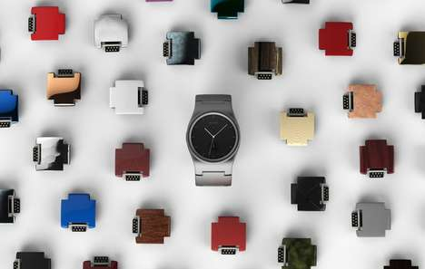 Colorful Modular Smartwatches - This Smartwatch is Made from Easily Replaceable Modules