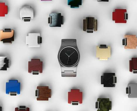 Colorful Modular Smartwatches