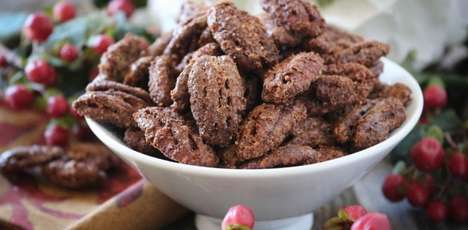 Thanksgiving Candied Pecans - These Healthy DIY Candied Nuts Capture the Flavors of Fall