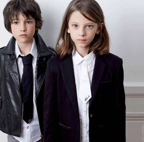 Children's Couture Collections - Karl Lagerfeld Launches His First Children-Centered Lineup