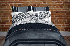 Designer Comic Book Sheets - This Marvel Comforter and Sheet Set is Designed for Adult Fans