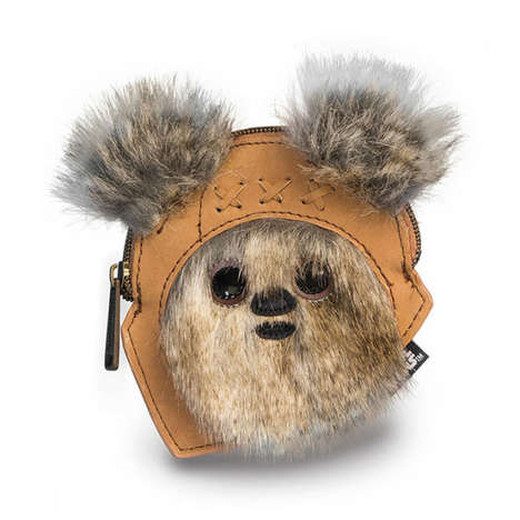 Galactic Bear Coin Purses - This Furry Change Purse is Designed to Look Like a Star Wars Ewoks