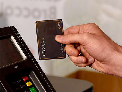 Digital Smart Wallets - The Wocket Electronic Wallet Logs Card Information for Convenient Access