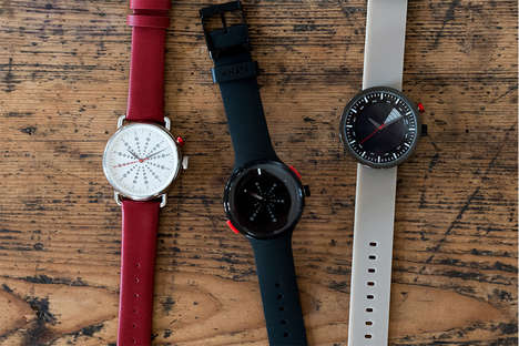 Time-Stopping Watches - The 'What Watch' is an App-Connected Watch That Records Special Moments