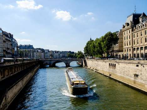 Parisian Floating Hotels - This Hotel on Water Will Be Towed into Place Next to the Notre-Dame