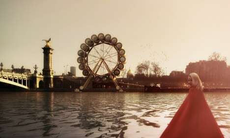 Rotating Water Wheel Hotels - This Hotel Spins Like a Ferris Wheel With Glass-Walled Sleeping Pods