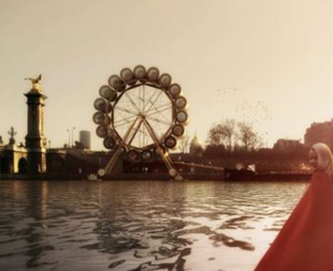 Rotating Water Wheel Hotels
