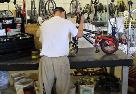 Inmate-Crafted Bicycles - This Program Gives Inmates the Chance to Repair Bikes for Needy Children