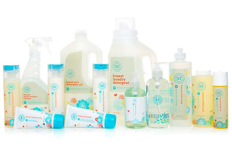 Customizable Family Care Packages - The Honest Company Sells Family Cleaning Products in Bundles