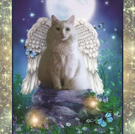 Fantasy Cat Calendars - This Whimsical Cat Calendar Features Magically Winged Felines