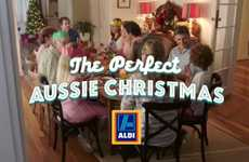 Frantic Holiday Ads - 'Aldi' Supermarkets in Australia Depict a Stressful Christmas Experience
