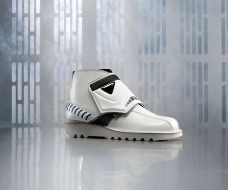 Sci-Fi Soldier Footwear - These Stormtrooper Kicker Boots are Approved by the Evil Empire for Combat