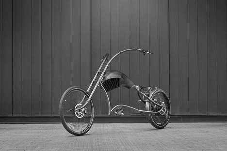 Motorcycle-Mimicking Electric Bikes - This Ono Bike Uses the Same Body Shape as a Real Motorcycle