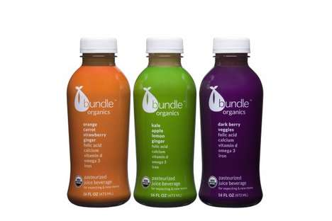 Healthy Prenatal Juices - Bundle Organics Provides Options for Women to Drink During Pregnancy