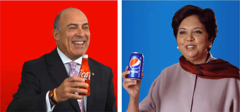 Rivalry Truce Ads - CEOs of Coke and Pepsi Made a Truce Commercial in Celebration of Veterans Day