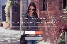 Unlimited Maternity Rentals - Le Tote Offers Flexible Subscriptions of Maternity Clothing for Women