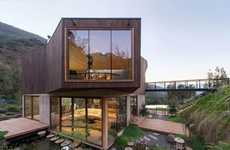 Abstract Eco-Friendly Homes