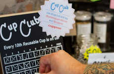 Reusable Cup Reward Programs - Cuppow's Cup Club Helps Consumers Save Money and the Environment