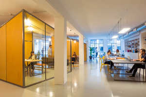'Zamness' is a Co-Working Space Built to Be Open and Collaborative
