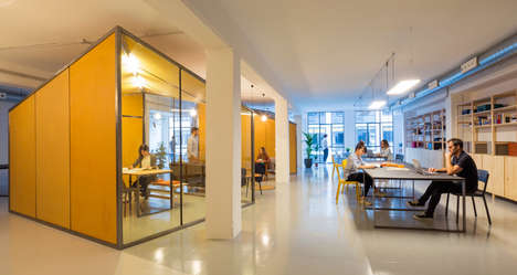 Communal Co-Working Offices - 'Zamness' is a Co-Working Space Built to Be Open and Collaborative