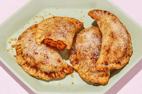 Panzerotti-Style Pumpkin Pies - These Thanksgiving Treats Fold Pumpkin Pie into a Hand-Held Dessert