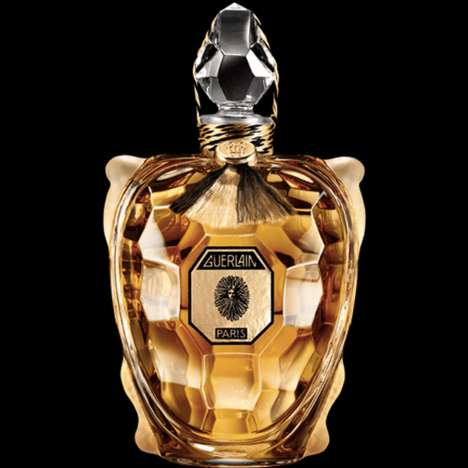 Turtle-Shaped Luxury Perfumes - The Guerlain Flacon Perfume Comes in a Baccarat Fine Crystal Bottle