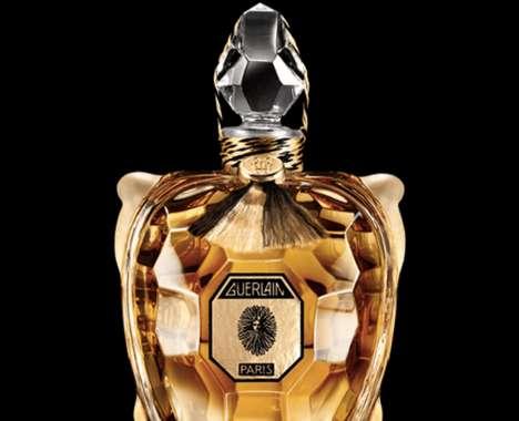 Turtle-Shaped Luxury Perfumes