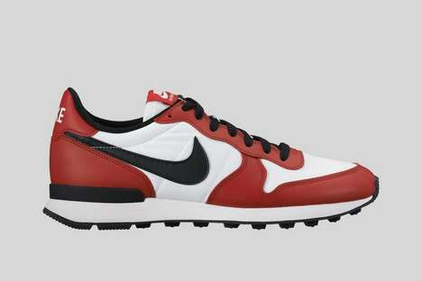 Patriotic City Sneakers - These Nike Shoes Capture the Stylized Essence of the City of Chicago