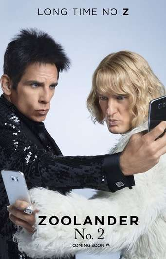Modeling Movie Campaigns - The Promotional Efforts for Zoolander 2 Includes an Instagram Account