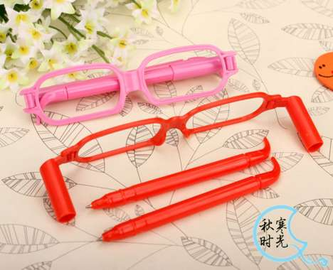 Quirky Pen Glasses