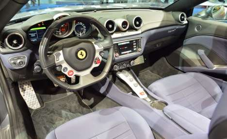 Cruelty-Free Car Interiors - Ferrari is Experimenting with Faux Leather Automotive Upholstery