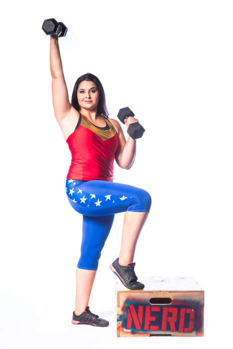 Superhero Fitness Cosplay - This Wonder Woman Workout Outfit Transforms You into the Superhero