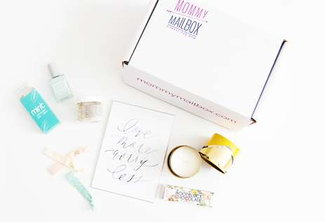 Motherhood Subscription Boxes - 'Mommy Mailbox' Curates a Monthly Assortment of Products for Mothers