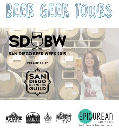 Educational Beer Tours - The 'Beer Geek Tour' Allows Attendees to Learn About Craft Brewing