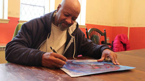 Homeless Art Initiatives - Artlifting is an Art Business for Homeless People to Earn an Income