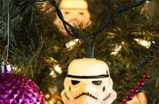 Geeky Sci-Fi String Lights - This Garland of Stormtrooper Lights is Perfect for Holiday Decorating