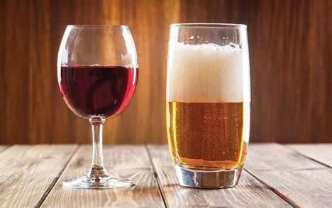 Boozy Beverage Pairing Competitions - This Event Examines the Differences in Beer and Wine Pairings