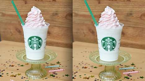 13 Festive Frozen Coffee Products - From Birthday Cake Frappuccinos to Autumnal Iced Coffees