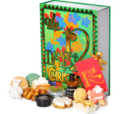 Holiday Bath Kits - Lush's '12 Days of Christmas' Countdown is a Self-Care Calendar