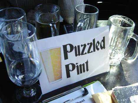 Boozy Puzzle Solving Events - This Monthly Event Combines Brain Teasers and Craft Beer