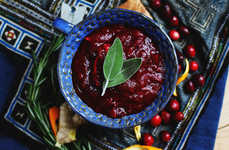 The Homemade Cranberry Sauce is a Healthier a Thanksgiving Dish