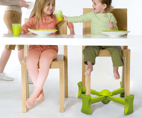 Child Chair Boosters - The Kaboost Portable Chair Booster Brings Kids Up to the Perfect Height