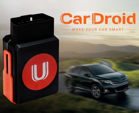 Connected Car Monitors